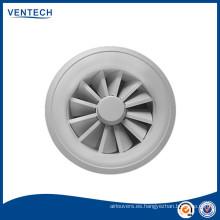 Difusor de remolino de ventilación de aire variable