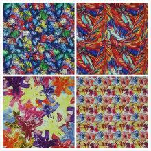 Oxford 600d Blumen-Druck Polyester-Gewebe (KL)