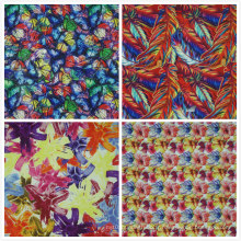 Oxford 600d Flower Printing Tissu en polyester (KL)