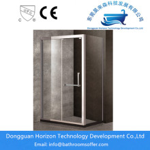 Semi frameless shower screen bathroom stalls