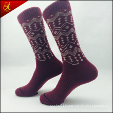 Popular MID Calf Sock Organic Cotton