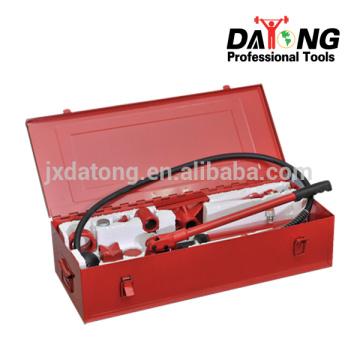 Équipement hydraulique portatif 10 tonnes (emballage de fer)
