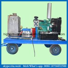 14500psi Industrielle Rohrreiniger Triplex Hochdruckpumpe