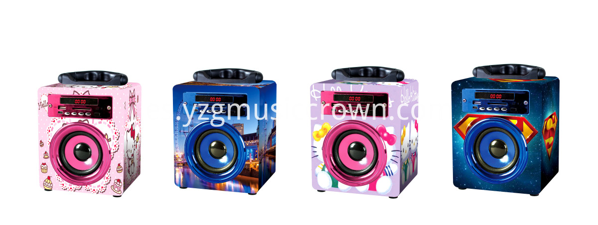 4 colors speaker option