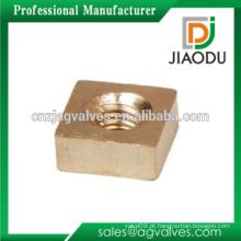 Mecânica CNC Torneamento Part Brass Square Nuts