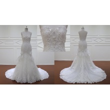 Apliques de Bling nupcial vestido vestido de noiva
