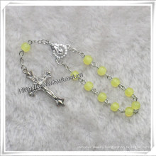 Yellow Glass Beads Decade Rosary (IO-CE078)