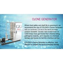 SUS 304 máquina de esterilización de ozono / ozono lavadora / ozono frutas y vegetales esterilizador