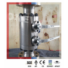 Specialized Produce Low Temperature Double Block Bleed Valve in 1/2""