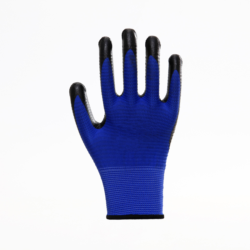 Nitrile Coated Safety Work Gloves