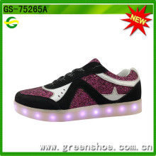 Boa Sellilng acender sapatos da fábrica de China (GS-75265)