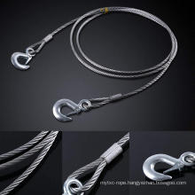 Steel Wire Rope with Hooks