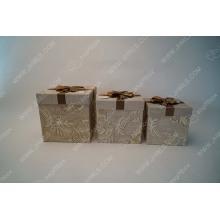 Ribbon bow tie wallpaper gift box