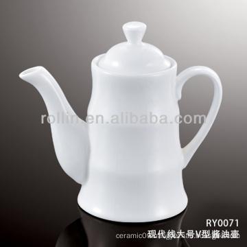 200ml modern line porcelain sauce pot, gravy boat,dressing pot
