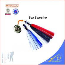 SKL025 новые металлические головы море осьминог юбка рыболовные приманки троллинг приманки