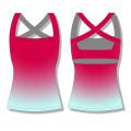 2016 Venda Por Atacado Novos Hot Sales Custom Design Yoga Sports Mulheres Fitness Tank Tops