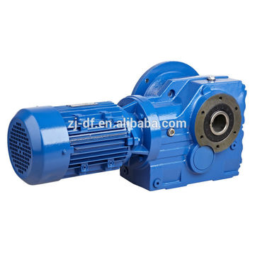 DOFINE K series 90 degree bevel gear reducer
