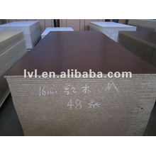 E1 glue rosewood melamine particle board 1220*2440mm