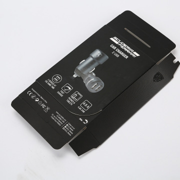 Electronic Car Charger Coated Paper Box Printing