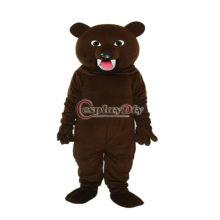2013 best-selling Shark Teeth Dark Brown Bear mascot costume