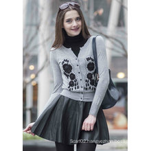 Cashmere Sweater with Embroidery (1500002079)