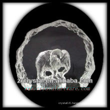 K9 Crystal Intaglio of Mold S047