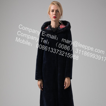Reversible Long Merino Shearling Coats
