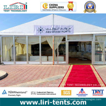 Luxury White Party Tent Glass Side for Event for Sale