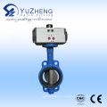 Cast Iron Wafer Butterfly Valve with Pneumatic Actuator
