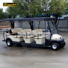 Excar 11 Sitz Golfwagen elektrische Sightseeing-Bus China Mini-Bus Shuttle-Bus