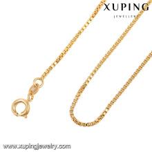 42970-bijoux de mode en gros pas cher 18K gold chain