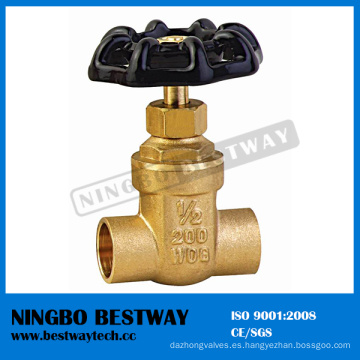 Venta caliente de la válvula de puerta de 200 Wog Brass (BW-G08)
