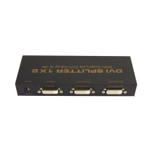 1 à 2 Dual Link DVI Splitter 4k