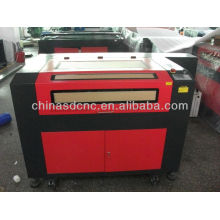 China with DSP control co2 60w/80w/100w 6090 laser engraving machine price for sale