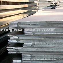 Placa de acero al carbono