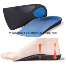 Dernières hommes et femmes semelle orthopédique chaussette EVA doublure (ff503-4)
