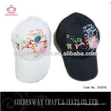 Вышитые 6 панельных бейсбольных шапок с пользовательским логотипом