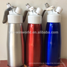 Herramientas de postre de cocina de alta calidad Whipper de crema de aluminio entero del aerosol