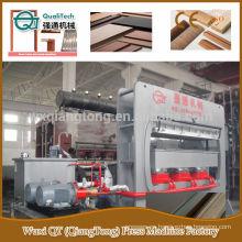 Moldeado laminado perfil máquina de prensado en caliente