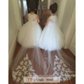 High Quality Puffy Flower Girl Dresses Wedding Party Dresses 2017 Free Cappa Factory