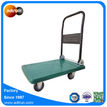 Plastic Platform Hand Truck with Foldable Handle