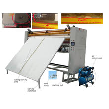 Textile Cutting Panel Machine China