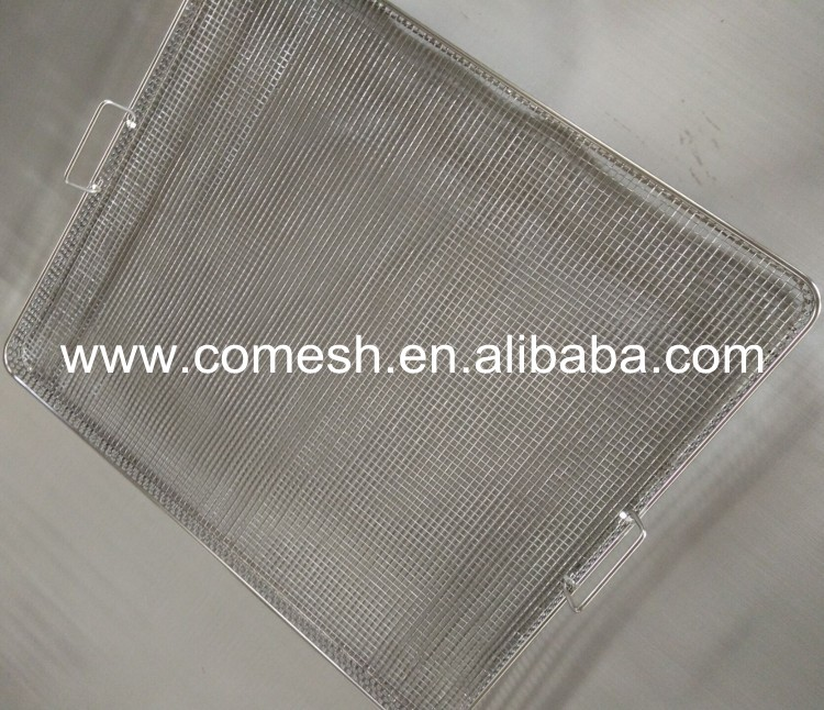 Square Hole Stainless Steel Tray