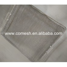 Square Hole Stainless Steel Wire Mesh Tray