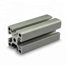 Perfil de extrusión de aluminio anodizado t plateado 40X40 plata