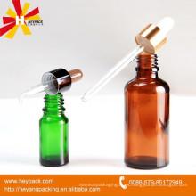 Botella de vidrio ámbar 100ml para envases de aceites esenciales