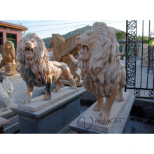 popular 2018 hot sell chinese stone carving big stone lion statue