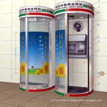 Cabine de sécurité ATM