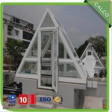 Prefabricated customized size security glass aluminum sunroom