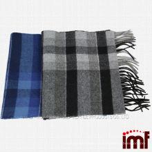 Bufanda de manta de tartán de cachemira de tartán